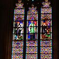 Stained Glass Glory Of St Patricks by Miriam Danar