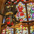 Stained Glass Lantern And Window by Iordanis Pallikaras