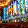 Stained Glass Of St Josephs, Hartford by James Kirkikis
