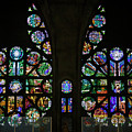 Stained Glass Our Lady Of The Rosary Cathedral Manizales Colombia by Adam Rainoff