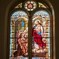 Stained Glass St. Stainslaus Winona Minnesota by Kari Yearous