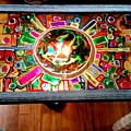 Stained Glass Table by Steve Semiatin