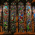 Stained Glass Window Christ Church Cathedral 2 by Mark Sellers