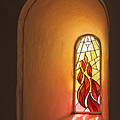 Stained Glass Window by Inge Riis McDonald