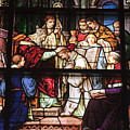 Stained Glass Window  by Kenneth Albin