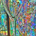 Stained Wine Glass by Rob Mandell
