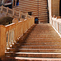 Staircase At Scala Della Ragione - Verona Italy by Just Eclectic