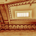 Staircase In Brown by Wolfgang Stocker