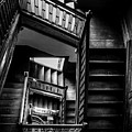 Staircase In Swannanoa Mansion by Jennifer Mitchell