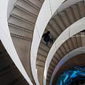 Stairs  Bruininks Hall University Of Minnesota Campus by Wayne Moran