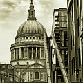 Stairs To St Pauls by Martin Newman
