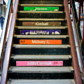 Stairs To The Chicago L by Anthony Doudt