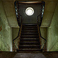 Stairs Toward The Attic - Abandoned House by Dirk Ercken