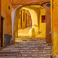 Stairway Inside Beni Isguen by Judith Barath