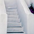 Stairway In Mykonos by Madeline Ellis