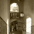 Stairway - In Sepia by Ben and Raisa Gertsberg