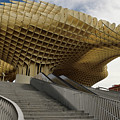 Stairway Leading Up To Metropol Parasol In The Plaza Of The Inca by Reimar Gaertner