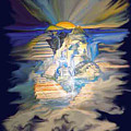Stairway To Heaven Digital by Gladiola Sotomayor
