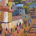 Stairway To Heaven Varanasi by Art Nomad Sandra  Hansen