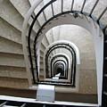 Stairwell In Presidente Hotel  by Brian Fornear