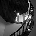 Stairwell To The Studio Crow's Nest by Robert Boyette