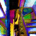 Stairwell  by Tony Rubino