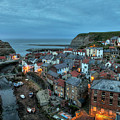 Staithes Evening by Graham Moore