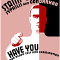 Stamp Out Syphilis And Gonorrhea by War Is Hell Store