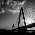 Stan Musial Bridge St Louis Mo Black And White_dsc4591_16_65 by Greg Kluempers