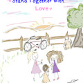 Stand Together With Love  by Arial Starr