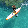 Stand Up Paddling II by Ron Dahlquist - Printscapes