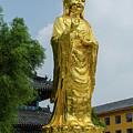 Standing Budda At Mi Tuo Shi by Paul Martin