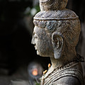 Standing Buddha 1 by Endre Balogh