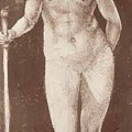 Standing Female Nude With Baton In The Right by Durer Albrecht