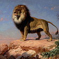 Standing Lion by Charles Christian Nahl