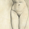 Standing Nude by William Edward Frost