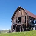 Standing Old Wooden Barn  by Don Siebel