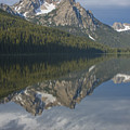 Stanley Lake Reflections by Idaho Scenic Images Linda Lantzy