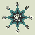 Star Flower - The Light Side by Raven Steel Design