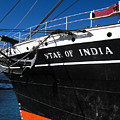 Star Of India Tall Ship San Diego Bay by Sharon French