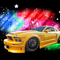 Star Of The Show - Mustang Gtr by Gill Billington