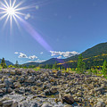 Star Over Creek Bed Rocky Mountain National Park Colorado by Paul Vitko
