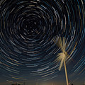 Star Trail In Hays, Ks by Willard Sharp