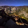 Star Trails At Yosemite Valley by Surjanto Suradji