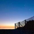 Star Trails In Wellfleet Cape Cod by Matt Suess