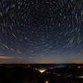 Star Trails Over Whitesburg by Cris Ritchie