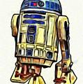 Star Wars R2d2 Droid - Da by Leonardo Digenio