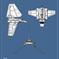 Star Wars - Shuttle Patent by Mark Rogan
