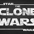 Star Wars The Clone Wars Chalkboard Typography by Georgeta Blanaru