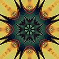 Star Weave 2 by Kiki Art